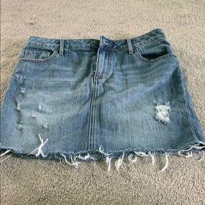 Melrose and Market Jean Skirt
